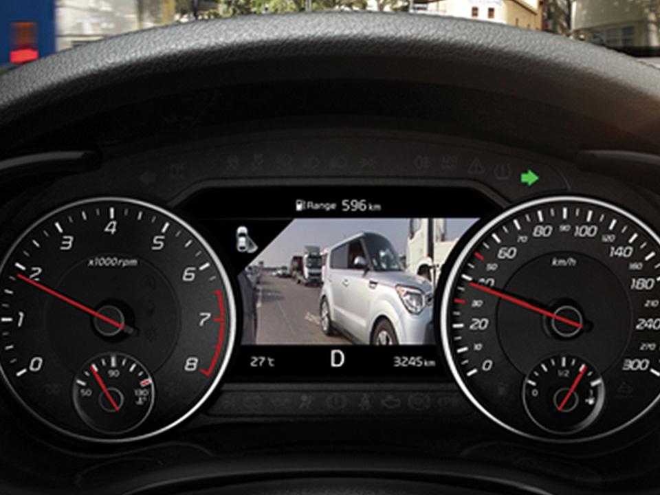 Tehnologii de ultimă generație: sistemul Blind-Spot View Monitor
